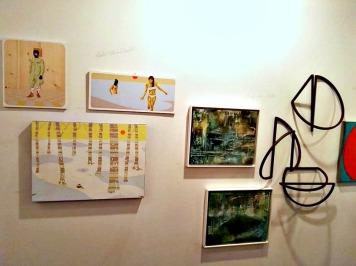 Carlo Rastelli e Sonja Von Hoeble for Five Gallery in ArtKarlsruhe