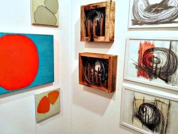 Maria Wallenstall e Ilaria Forlini for Five Gallery in ArtKarlsruhe