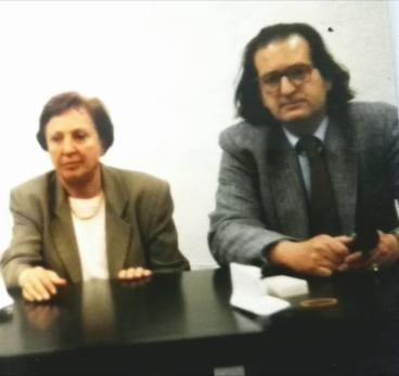Carla Accardi e la cultura dell'arte Brera anni '90.