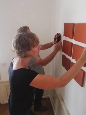 Cecilia Visser in Five Gallery Lugano.