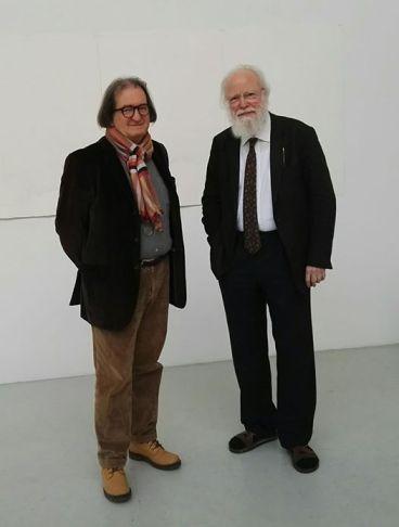 Con F.A.Morat al Morat-Institut fur Kunst und Kunstwissenschaft Freiburg.