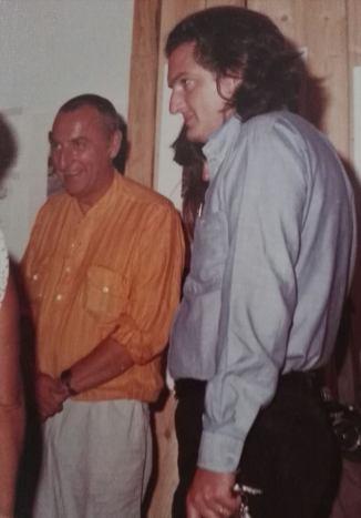 Con Jorgen Haugen Sorensen al Forte e Pietrasanta. La stagione della scultura negli anni '80.