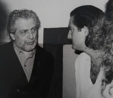 Giannetto Fieschi, tra gli artisti più straordinari che ho frequentato e studiato. Primi anni '80 con una articolata antologica.