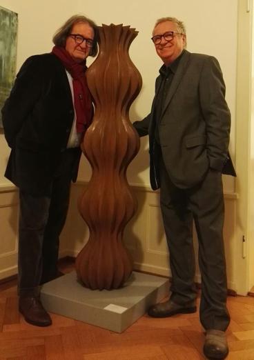 Herbert Melher tra i grandi della scutura europea. Ieri in FiveGallery a Lugano.