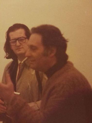 Mario Nanni, l'arte è ricerca. Nello studio a Bologna anni '80.