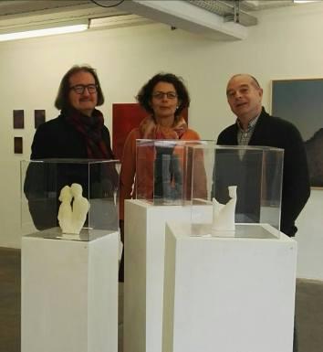 Andrea Hess, Horst Merkle Gallery in Stuttgart.