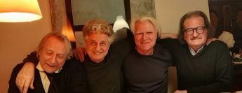Giorgio Cattani, Gaetano Grillo, Ivo Ringe a Milano.