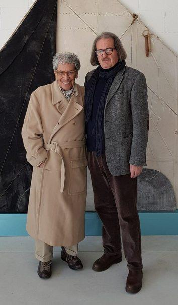 Gaston Orellana incontro in Studio di Albisola. Ascoltare, osservare ed amare la dimensione internazionale della Storia dell'Arte Moderna e Contemporanea, tra intelligenza, classe, vitalità ed esperienza infinita.