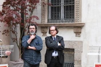 Con Beppe Sabatino