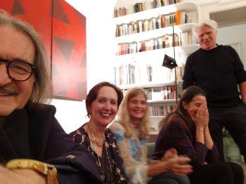 Con C.Desgranges, R.Rohlfing, I.Terracciano e I.Ringe a Milano 2018