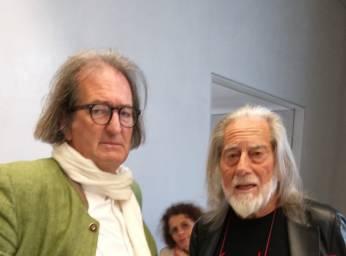 Con Fabrizio Plessi