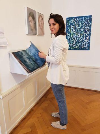 Con Ginevra Tarabusi in Five Gallery
