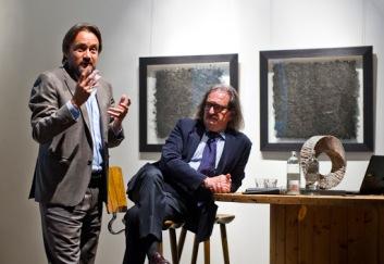 Con Igor Rucci per Art Economy (2) 2018