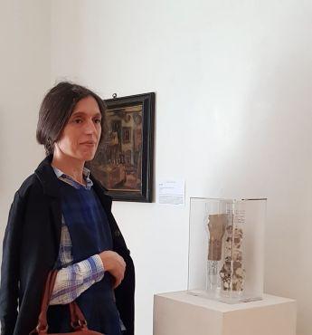 Con Valeria Manzi in Five Gallery