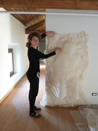 Federica Ferzotti in Residenza d'Artista 2018