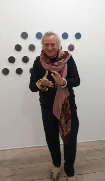 Giorgio Cattani in Galleria Ferrara 2018