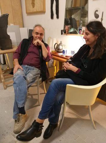 Antonio Violetta con Ida Terracciano a Bologna 2018