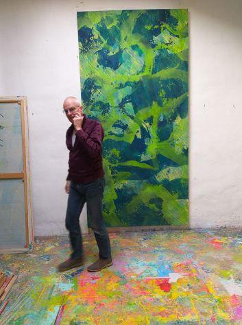 Niko Grathwohl in studio a Koln 2018