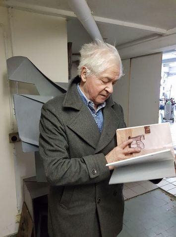 Paolo Bellini in studio