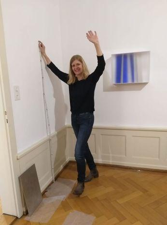 Rita Rohlfing in Five Gallery Lugano 2018