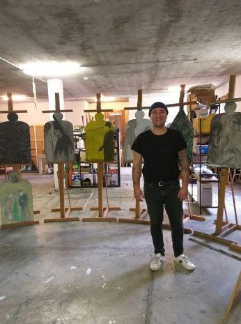 Thomas Berra in Studio 2019
