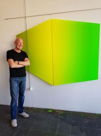 Thomas Deyle in studio a Colonia
