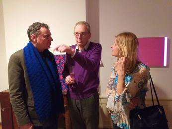 V.Corsini, R.Gross, R. Rohlfing in Five gallery Lugnao 2018