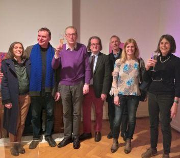 V.Manzi,V.Corsini,R.Gross,P.Iachetti, R.Rohlfing, M.Wolf in Five Gallery Lugano 2018