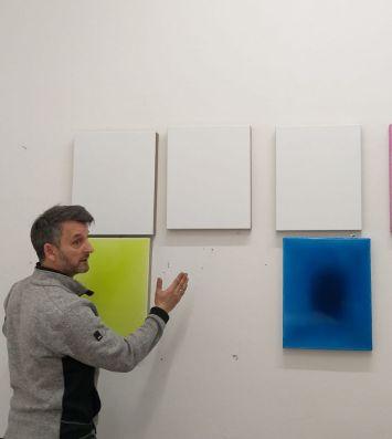 Werner Windisch in studio a Freiburg 2018
